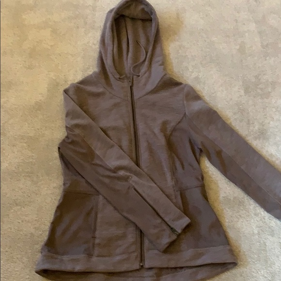 Anthropologie Jackets & Blazers - Anthropologie Akemi + Kin hooded fitted zip up
